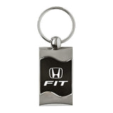Honda Fit Keychain & Keyring - Black Wave