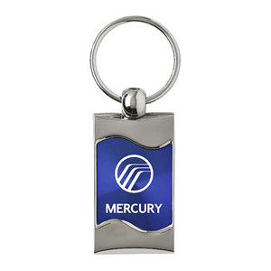 Mercury Keychain & Keyring - Blue Wave