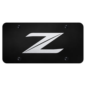 Nissan Z (New) Laser Etched Black Plate