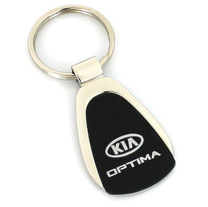 KIA Optima Keychain & Keyring - Black Teardrop