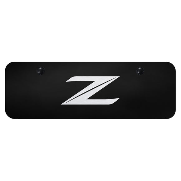 Nissan Z (New) Laser Etched Black Mini-Plate