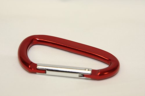 Carabiner 8mm Diameter - Red (NOW)