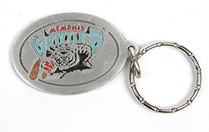 Memphis Grizzlies NBA Keychain & Keyring - Pewter