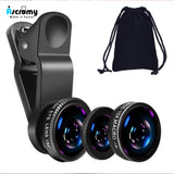 Universal 3 in 1 Wide Angle/ Fish Eye/ Macro Lenses - Phenomenal Ware