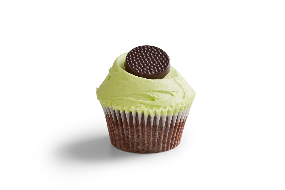 Monthly Special: Mint Chocolate Cupcakes