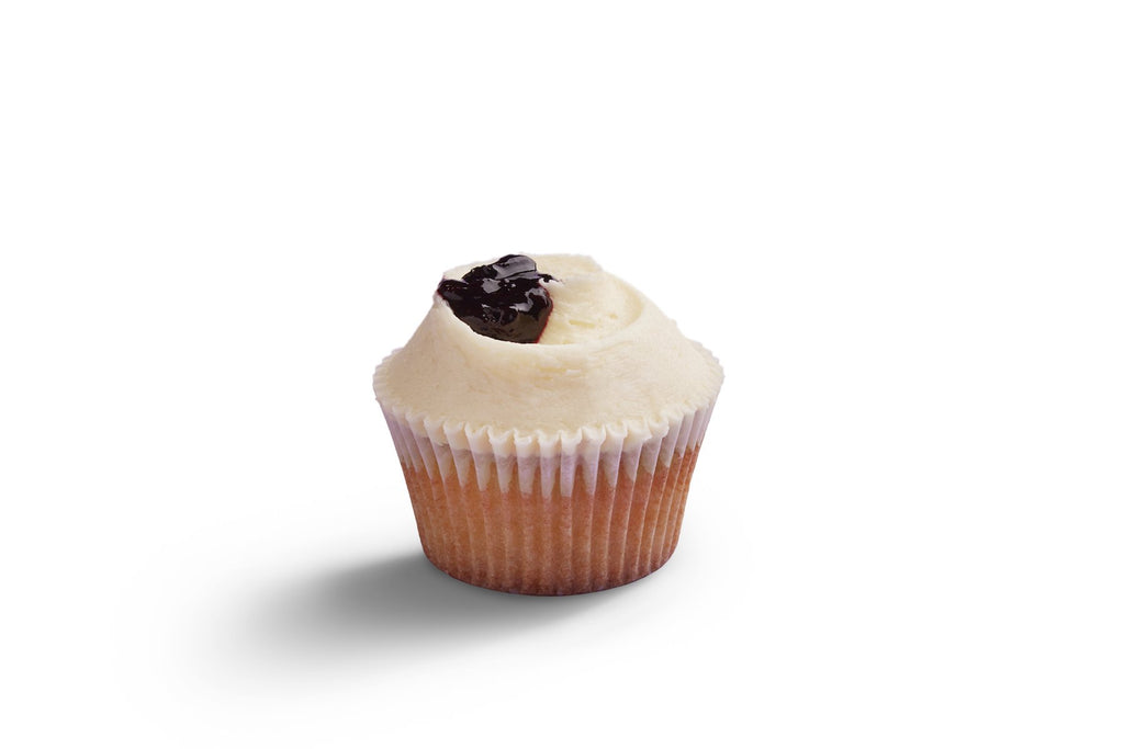 Monthly Special: Blueberry and Lemon Cupcakes
