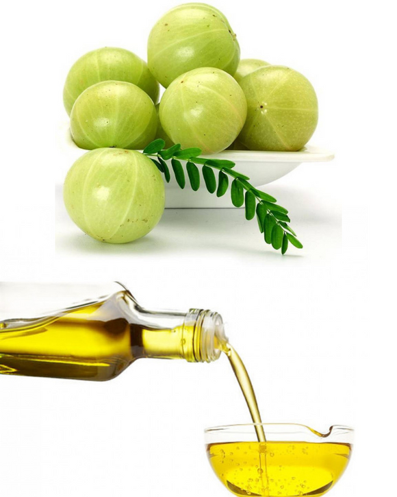 Pure Amla Oil With Coconut & Almond Oil For Long Healthy Hair