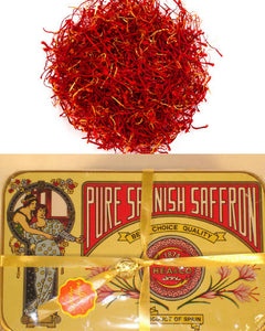 Pure Spanish Saffron | Imported From Spain