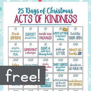 Christmas Acts of Kindness Countdown
