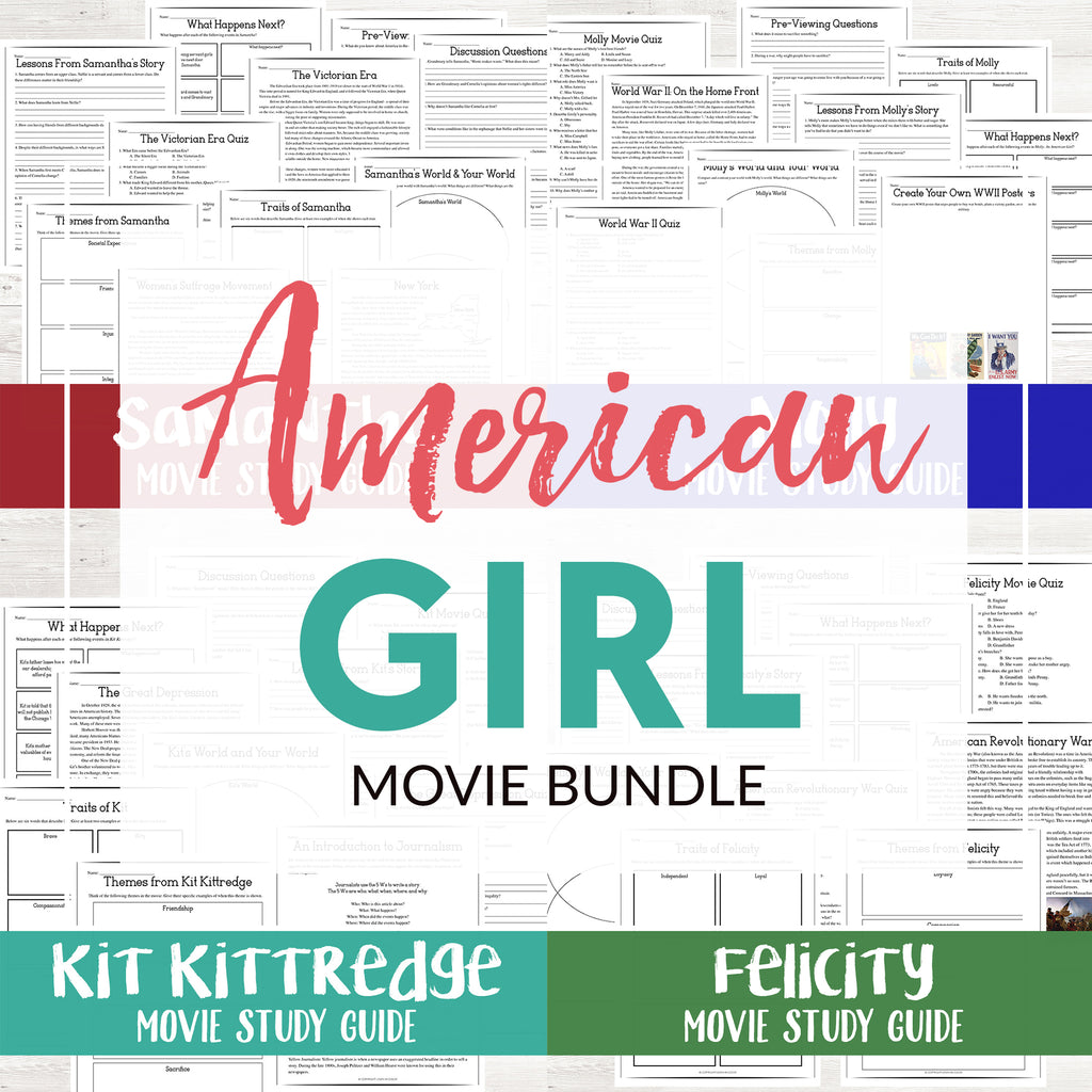 American Girl Movie Bundle
