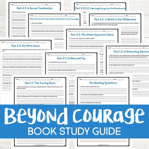 Beyond Courage Book Study  <h5><b>Grades:</b> 6-9 </h5>