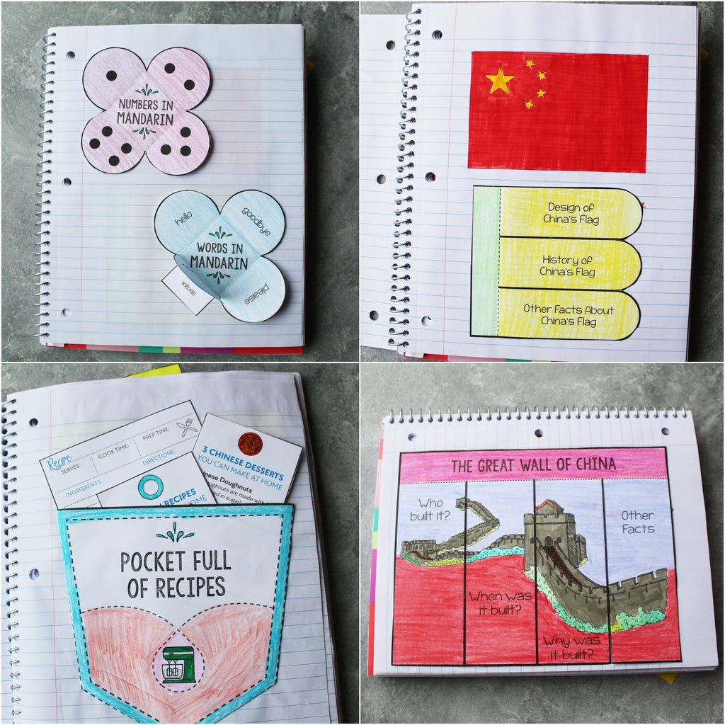 China Interactive Notebook <h5><b>Grades:</b> 2-5 </h5>