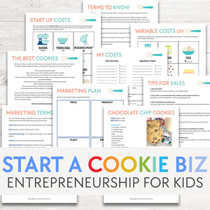 Creating a Cookie Business | Entrepreneurship Project for Kids