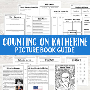 Counting on Katherine Picture Book Study <h5><b>Grades:</b> 3-5</h5>