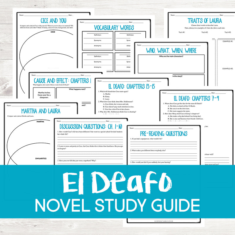El Deafo Book Guide