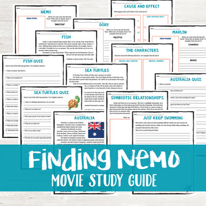 Finding Nemo Movie Study
