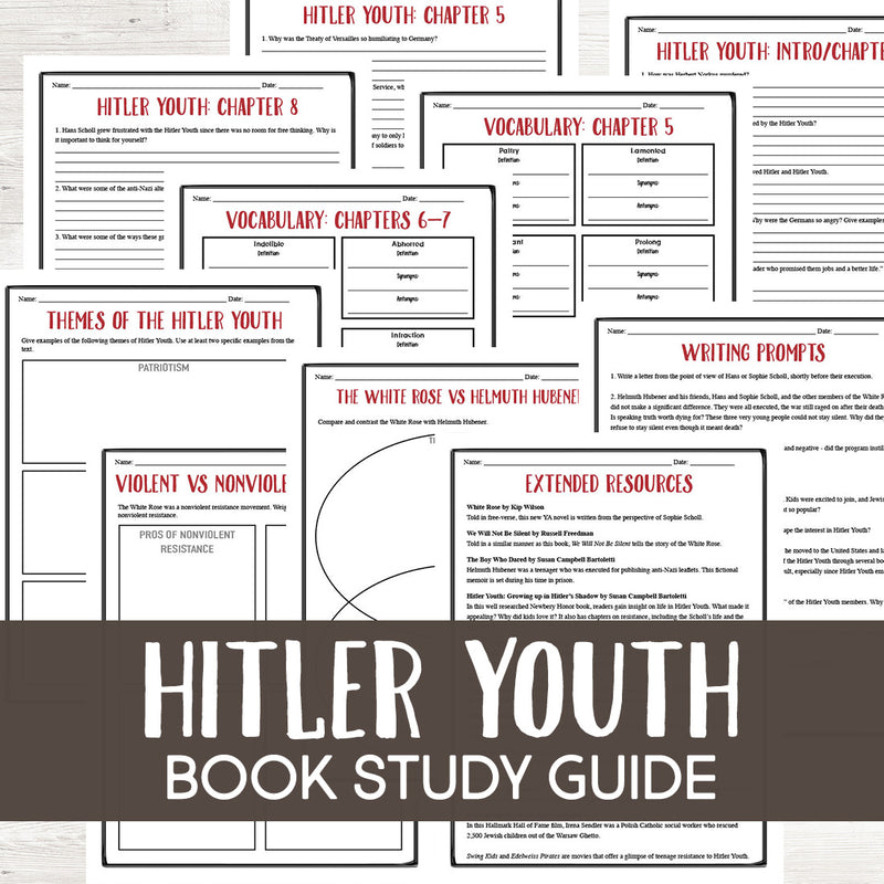 Hitler Youth: Growing Up in Hitler's Shadow Book Study