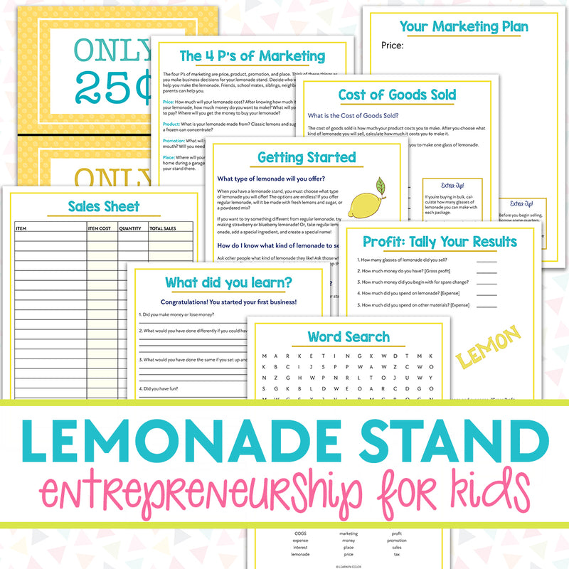 Lemonade Stand Entrepreneurship