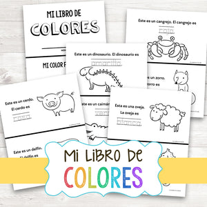 My Book of Colors - English & Spanish