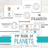 My Book of Planets - English & Spanish