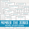 Number the Stars Book Study <h5><b>Grades:</b> 4-6 </h5>