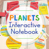 Planets Lapbook Interactive Notebook + Cheat Sheets <h5><b>Grades:</b> 4-7 </h5>