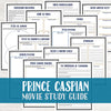 Prince Caspian Movie Study <h5><b>Grades:</b> 7-8 </h5>