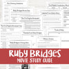 Ruby Bridges Movie Study<h5><b>Grades:</b> 3-6 </h5>