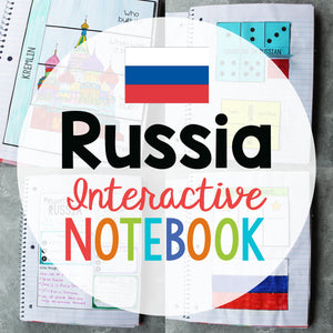 Russia Interactive Notebook <h5><b>Grades:</b> 2-5 </h5>