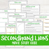 Secondhand Lions Movie Study <h5><b>Grades:</b> 4-7 </h5>