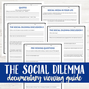 The Social Dilemma (2020) Viewing Guide