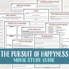 The Pursuit of Happyness Movie Study <h5><b>Grades:</b> 7-9 </h5>
