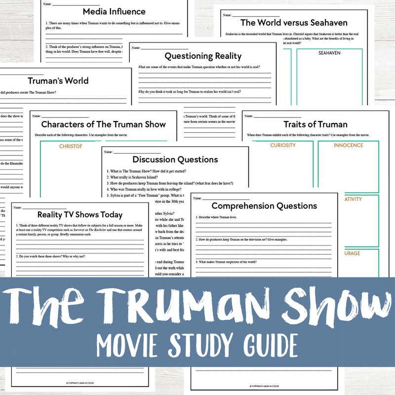 The Truman Show Movie Study