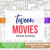 Tween Movie Night Bundle <h5><b>Grades:</b> 4-8 </h5>