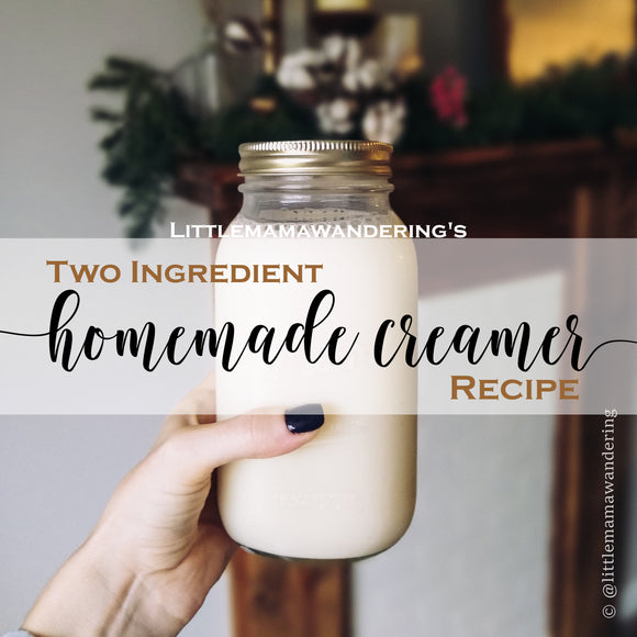 Two Ingredient Homemade Creamer