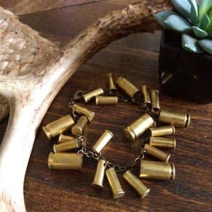 Bullet Shell Bracelet - mixed caliber