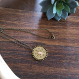 Shotgun Shell Pendant Necklace