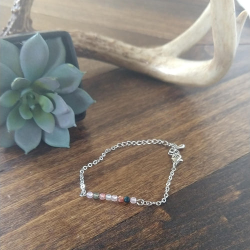 Beaded Bar Bracelet - Gypsy