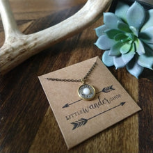 .45 Caliber Pendant Necklace with Pearl Primer