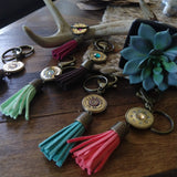 Shotgun Shell Tassel Keychain - PRIMER + ROYAL