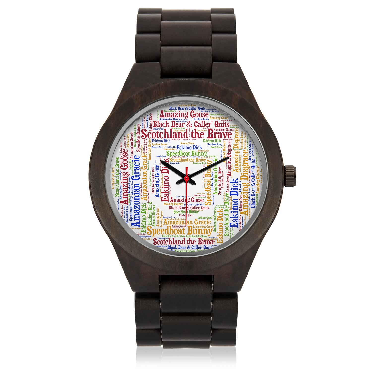 Wooden Watch w/ Epic Chunes