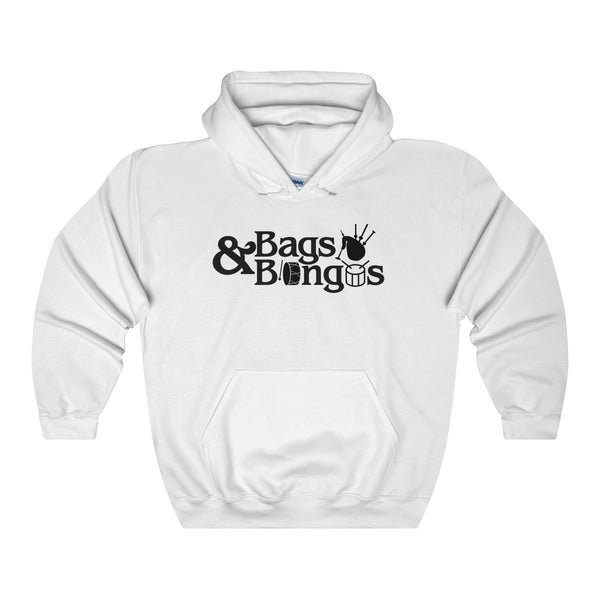OFFICIAL Bags and Bongos | Unisex Heavy Blend Hooded Sweatshirt