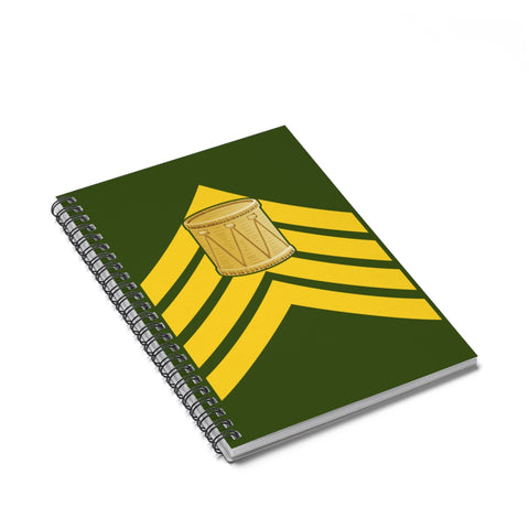 Drum Major's Spiral Notebook - Ruled Line
