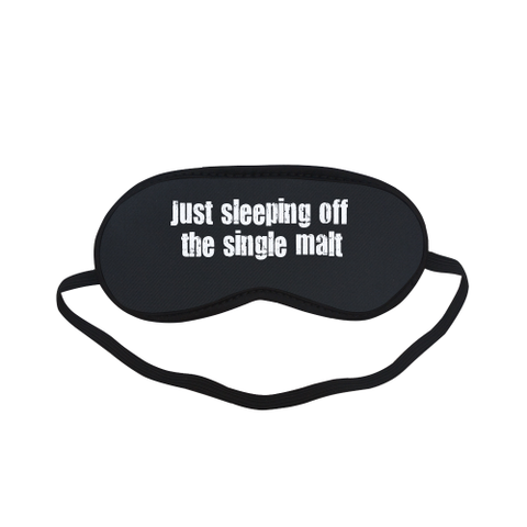 Single Malt Sleeping Mask