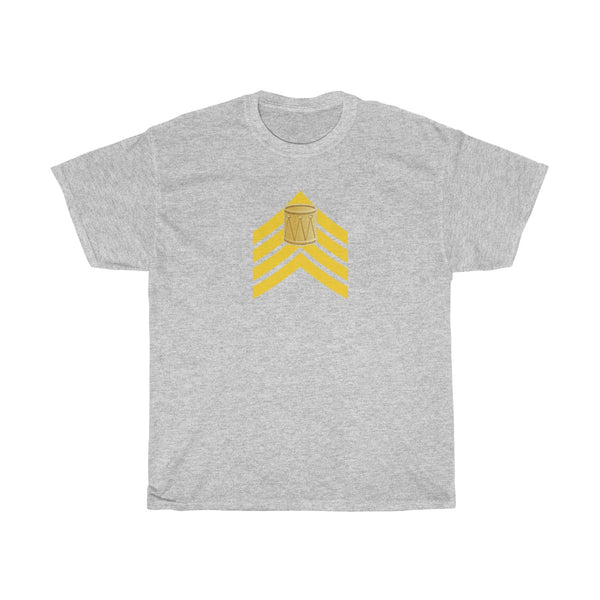 Drum Major Major Rank | Unisex Heavy Cotton Tee