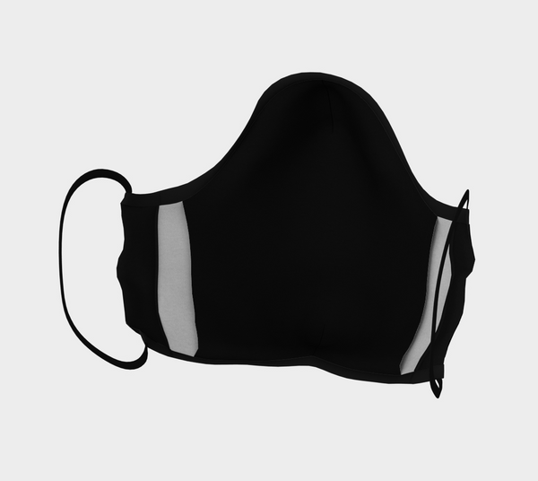 Drummer Non-Medical Face Covering (Black)