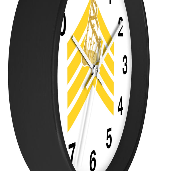 Pipe Major Wall Clock