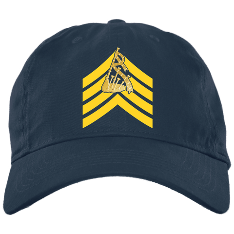 Pipe Major Embroidered Cap