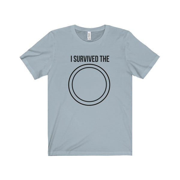 I SURVIVED THE CIRCLE | Unisex Jersey Short Sleeve Tee