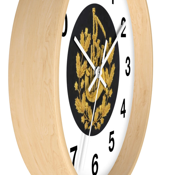 Pipe Major Wall Clock - Deluxe